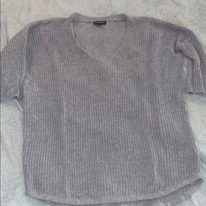 gray dress top